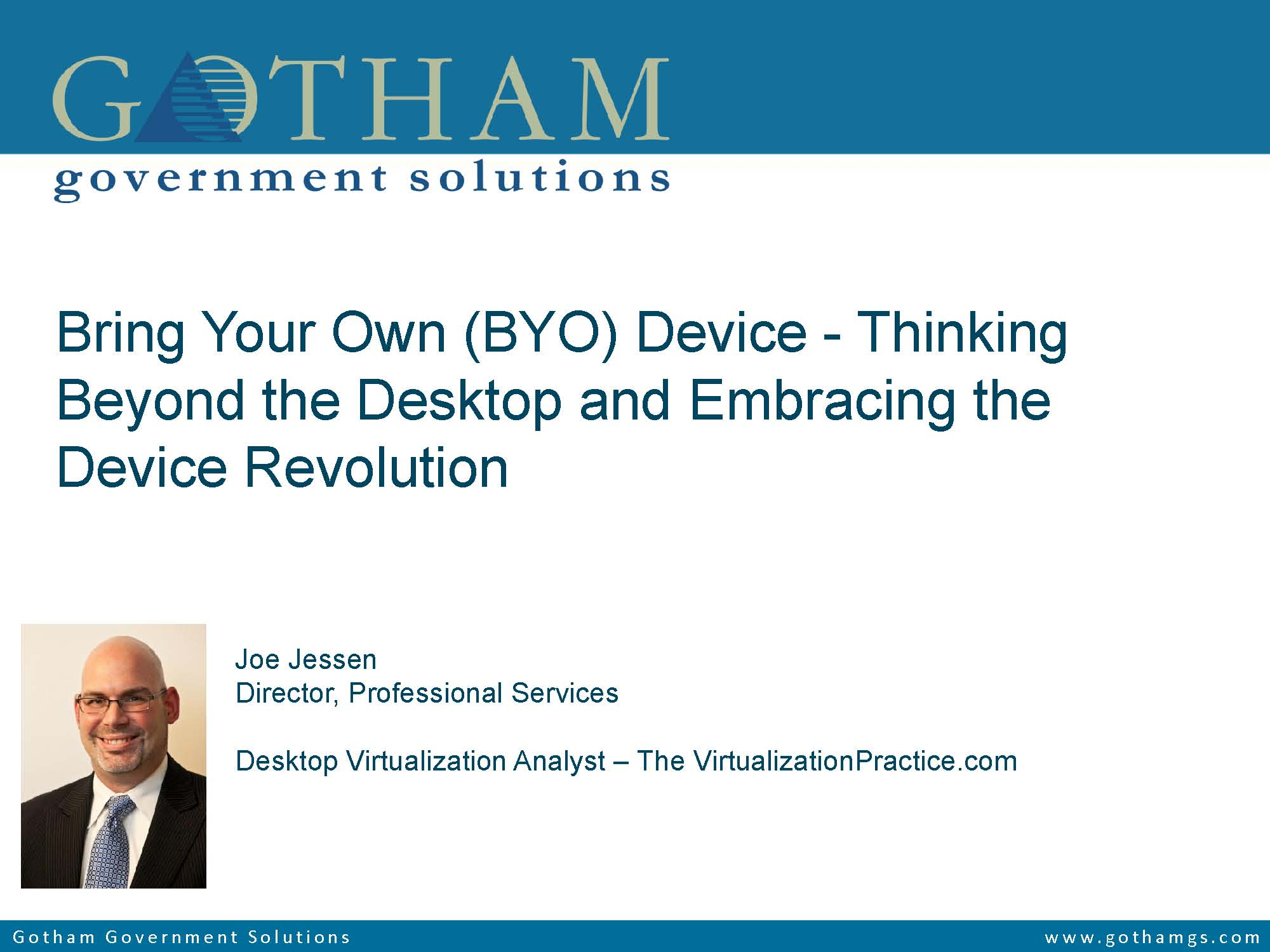 BYO Device - Embracing the Device Revolution